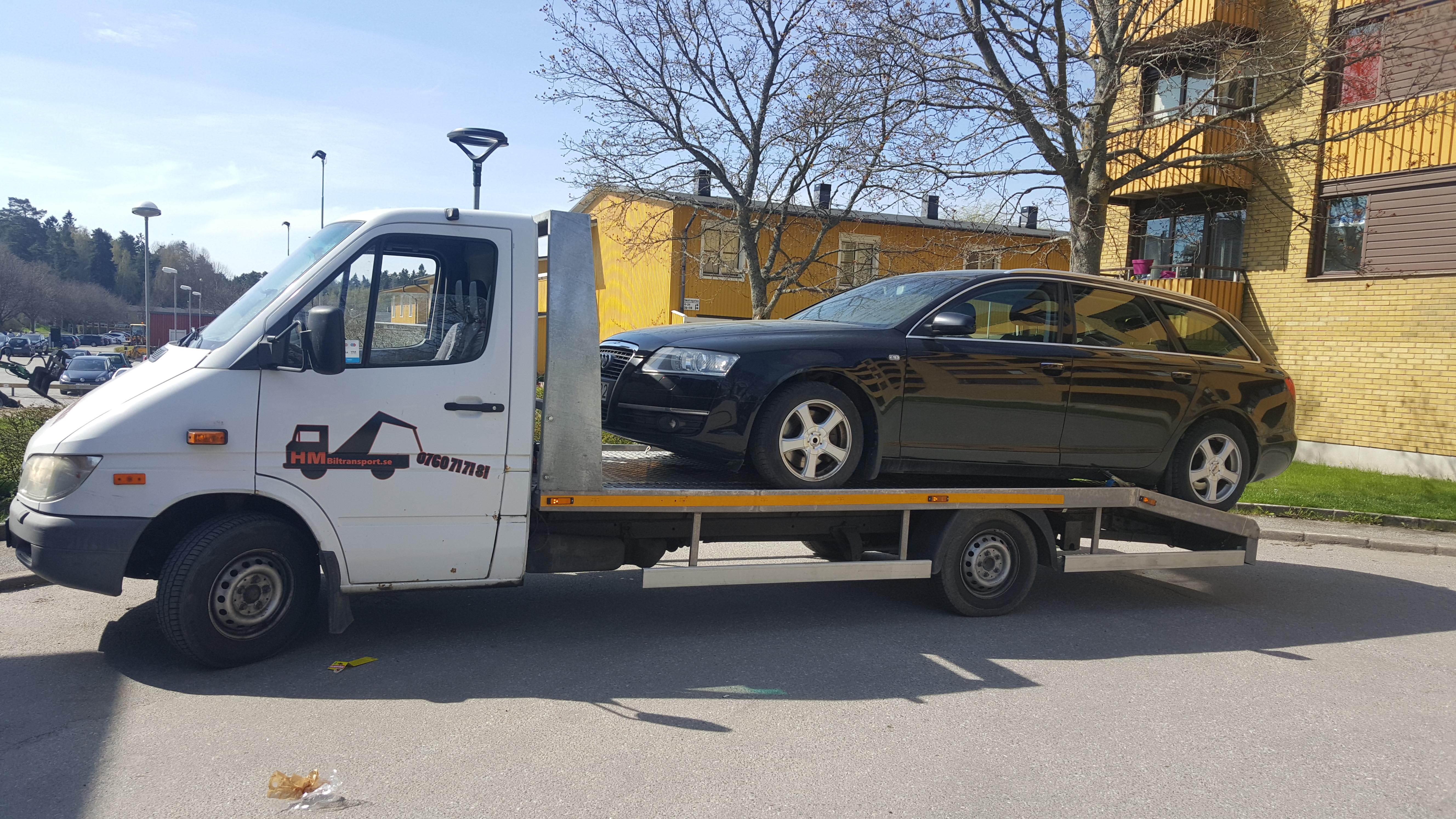 Bilbärgning bärgare Stockholm